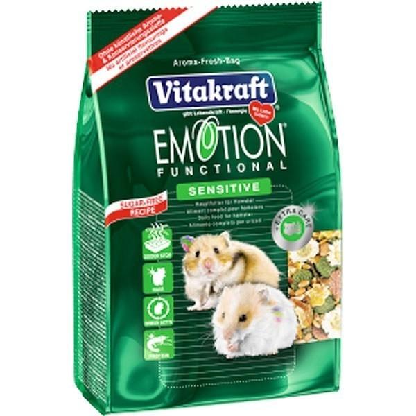 Hrana pentru rozatoare Vitakraft Meniu Emotion Sensitive Hamster 300 g