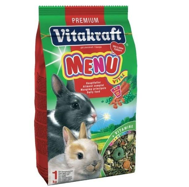 Hrana pentru rozatoare Vitakraft Meniu Iepure 500 g
