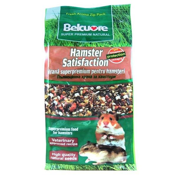 Hrana pentru rozatoare Belcuore Satisfaction Hamsteri, 500 G