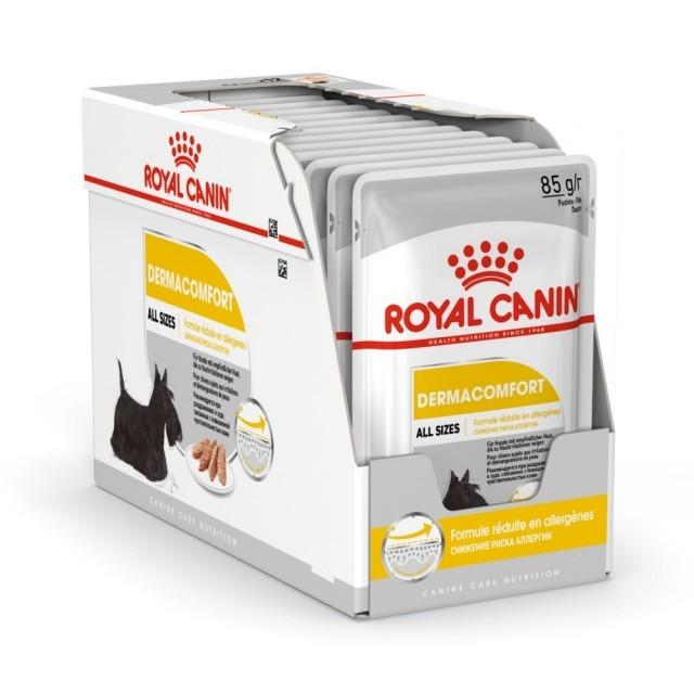 Hrana umeda pentru caini, Royal Canin, Dermaconfort Pouch