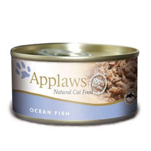 Hrana umeda pentru pisici, Applaws Peste Oceanic 70 g