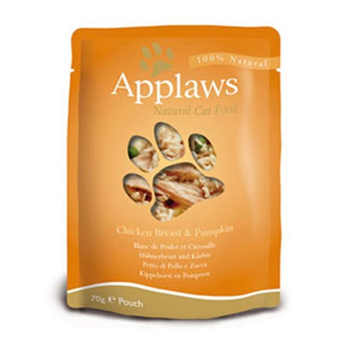 Hrana umeda pentru pisici, Applaws Piept de Pui cu Dovlecel 70 g
