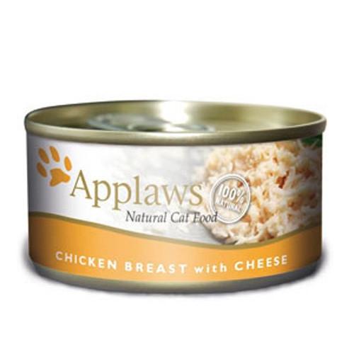 Hrana umeda pentru pisici, Applaws Piept Pui si Branza 70 g