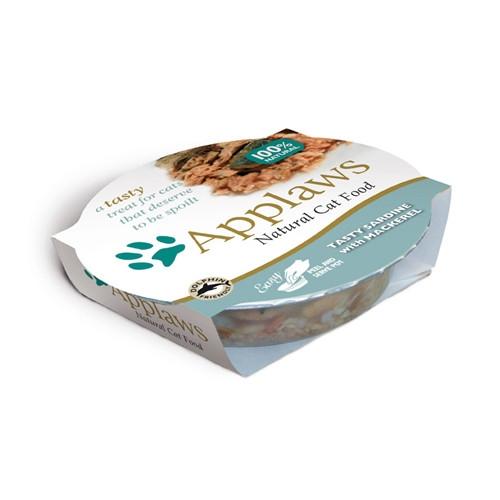 Hrana umeda pentru pisici, Applaws Sardine si Macrou 60 g