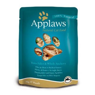 Hrana umeda pentru pisici, Applaws Ton si Ansoa 70 g