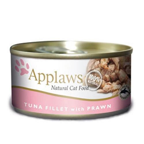 Hrana umeda pentru pisici, Applaws Ton si Creveti 70 g