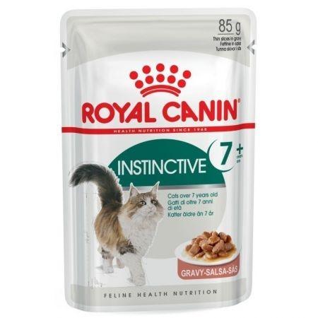 Hrana umeda pentru pisici, Royal Canin Instinctive +7