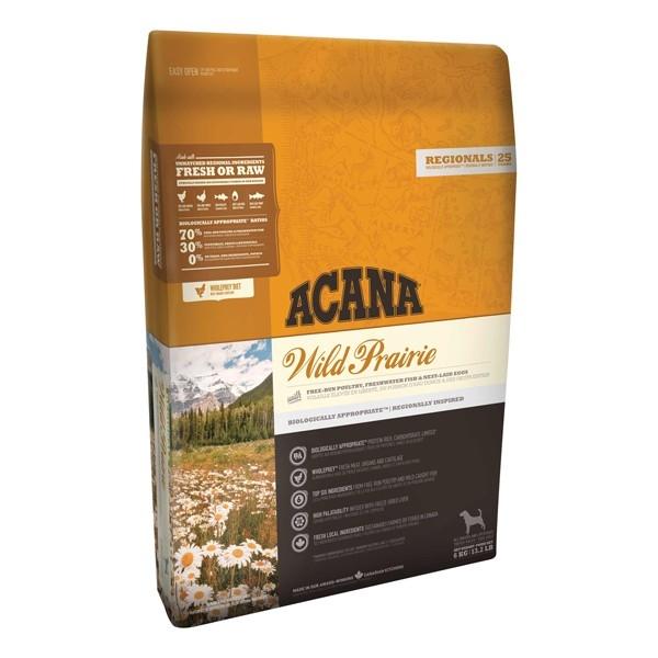 Hrana uscata pentru caini, Acana, Dog Wild Prairie, 11.4 KG