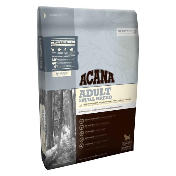 Hrana uscata pentru caini, Acana, Heritage Adult Mini, 6 KG
