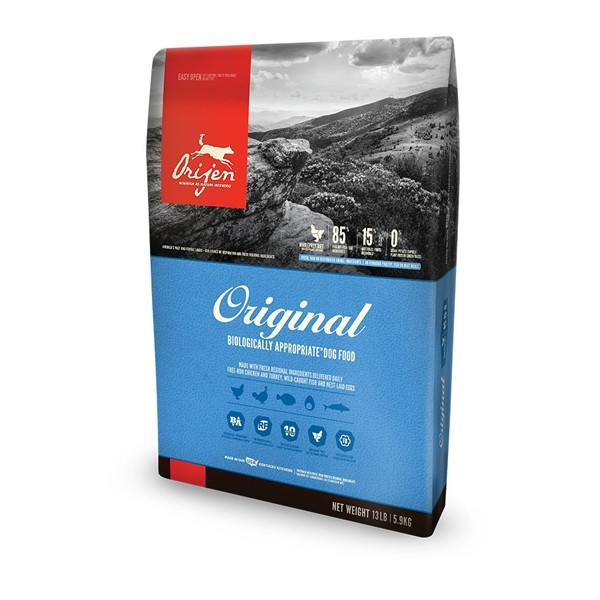 Hrana uscata pentru caini, Orijen, Original Dog, 11.4 KG