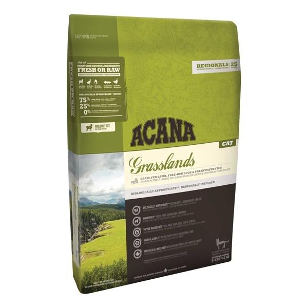 Hrana uscata pentru pisici, Acana, Cat Grasslands, 5.4 KG