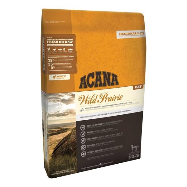 Hrana uscata pentru pisici, Acana, Cat Wild Prairie, 5.4 KG
