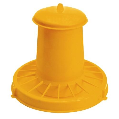 Hranitor cu capac pentru pui Novital Hopper 10.5 L