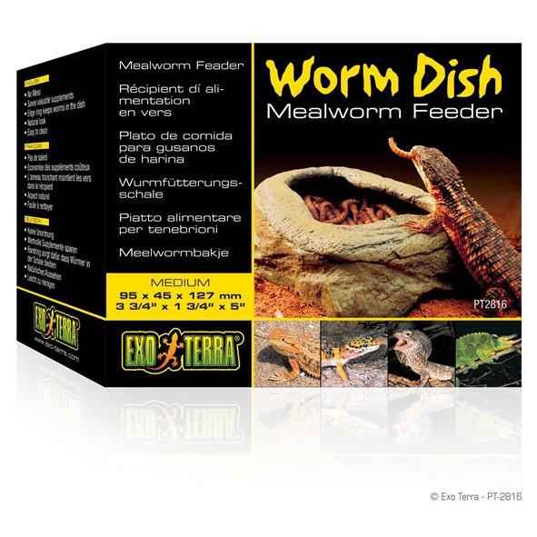 Hranitor reptile, Exo Terra Worm Dish PT2816