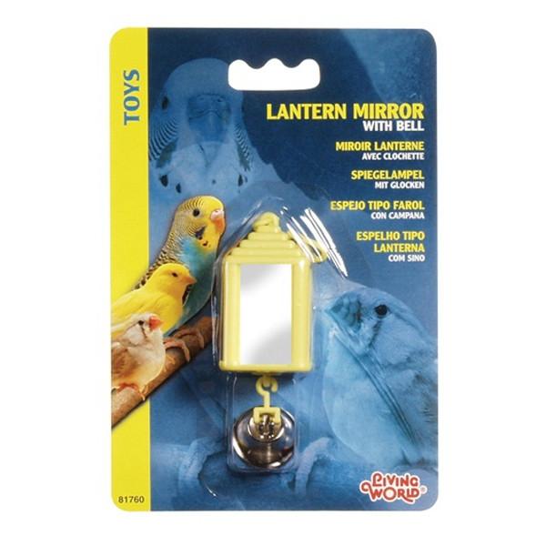 Jucarie pentru pasari Hagen  Living World Lantern Mirror with Bell