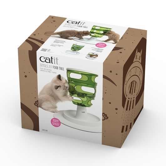 Jucarie pentru pisici, Catit, Senses 2.0 Food Tree