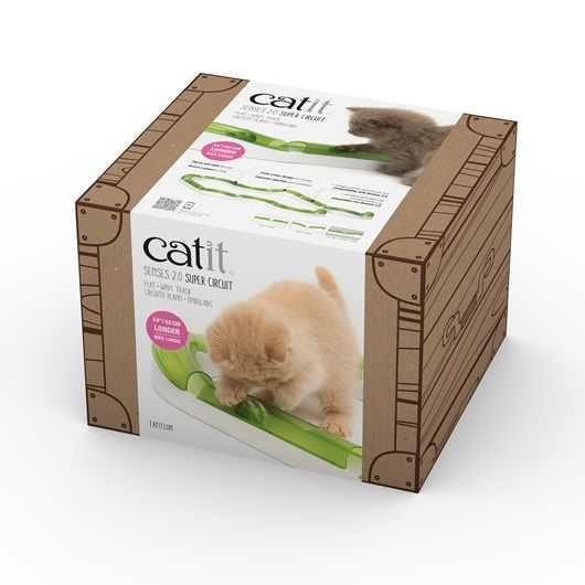 Jucarie pentru pisici, Catit, Senses 2.0 Super Circuit