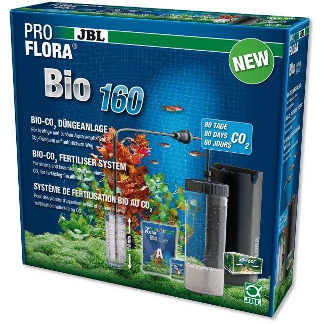 Kit CO2 acvariu, JBL ProFlora bio160 2