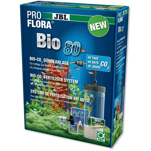 Kit CO2 acvariu, JBL ProFlora bio80 2