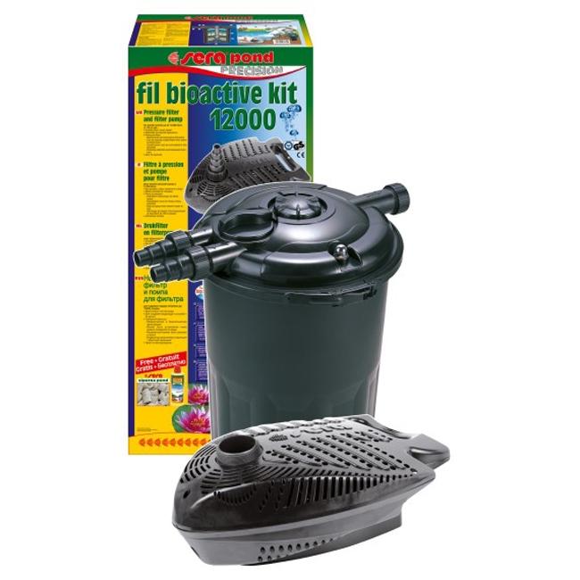 Kit pompa si filtru iaz Sera Fil Bioactive Set 12000