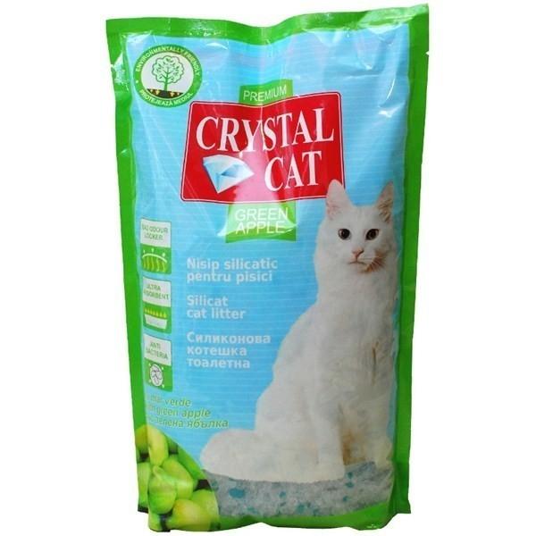 Nisip pentru pisici, Crystal Cat Mar Verde, 1.75 KG