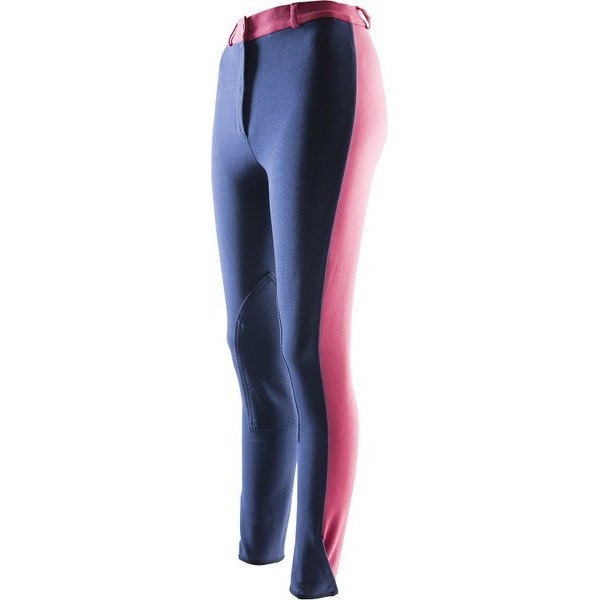 Pantaloni echitatie dama Ekkia Pro Fun Line Denim 40 979320040