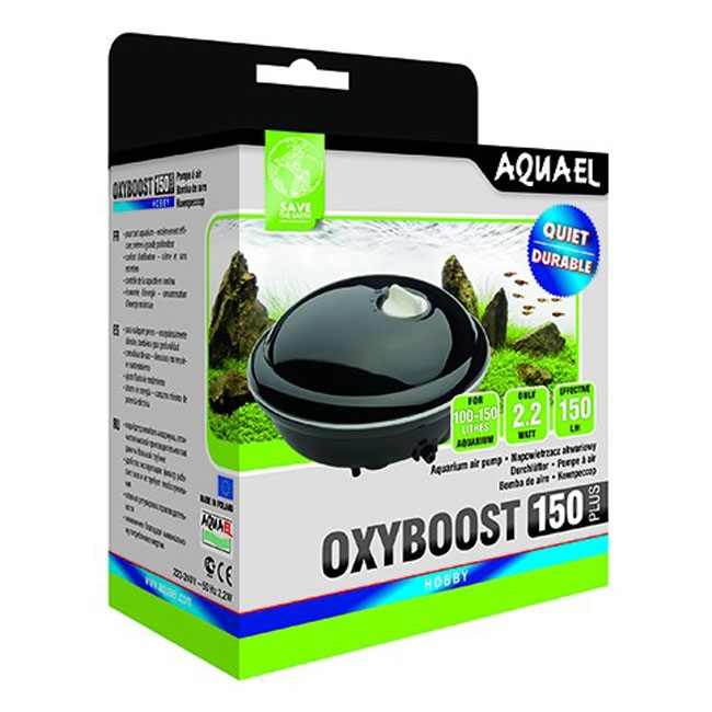 Pompa aer pentru acvariu, Aquel Oxyboost 150 Plus
