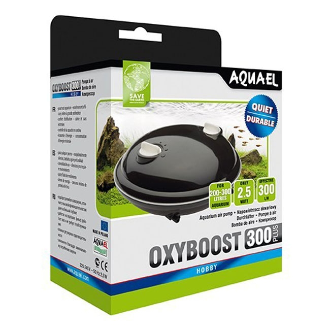 Pompa aer pentru acvariu, Aquel Oxyboost 300 Plus