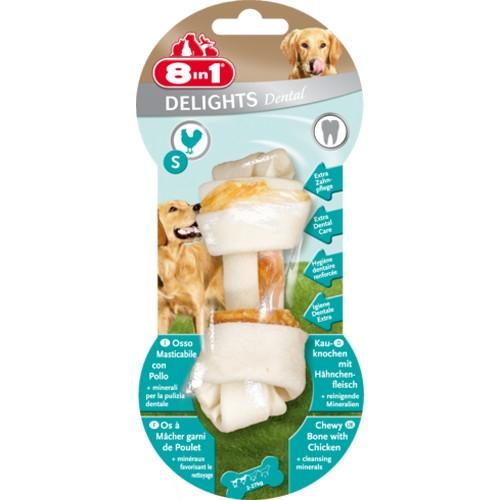 Recompense pentru caini, 8in1, Dental Delights S
