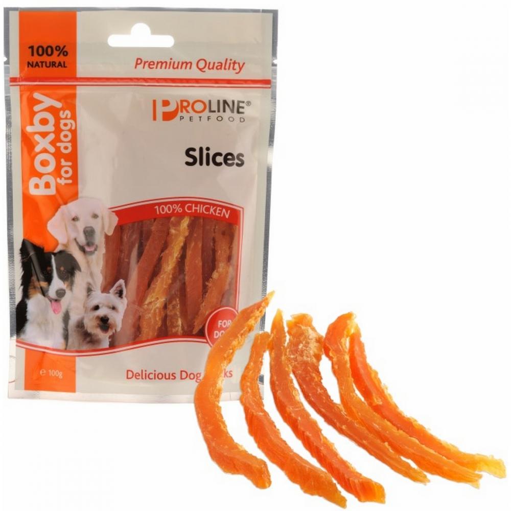 Recompense pentru caini, Proline, Boxby Slices, 100 g
