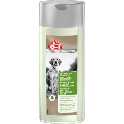 Sampon pentru caine, 8in1 Tea Tree Oil