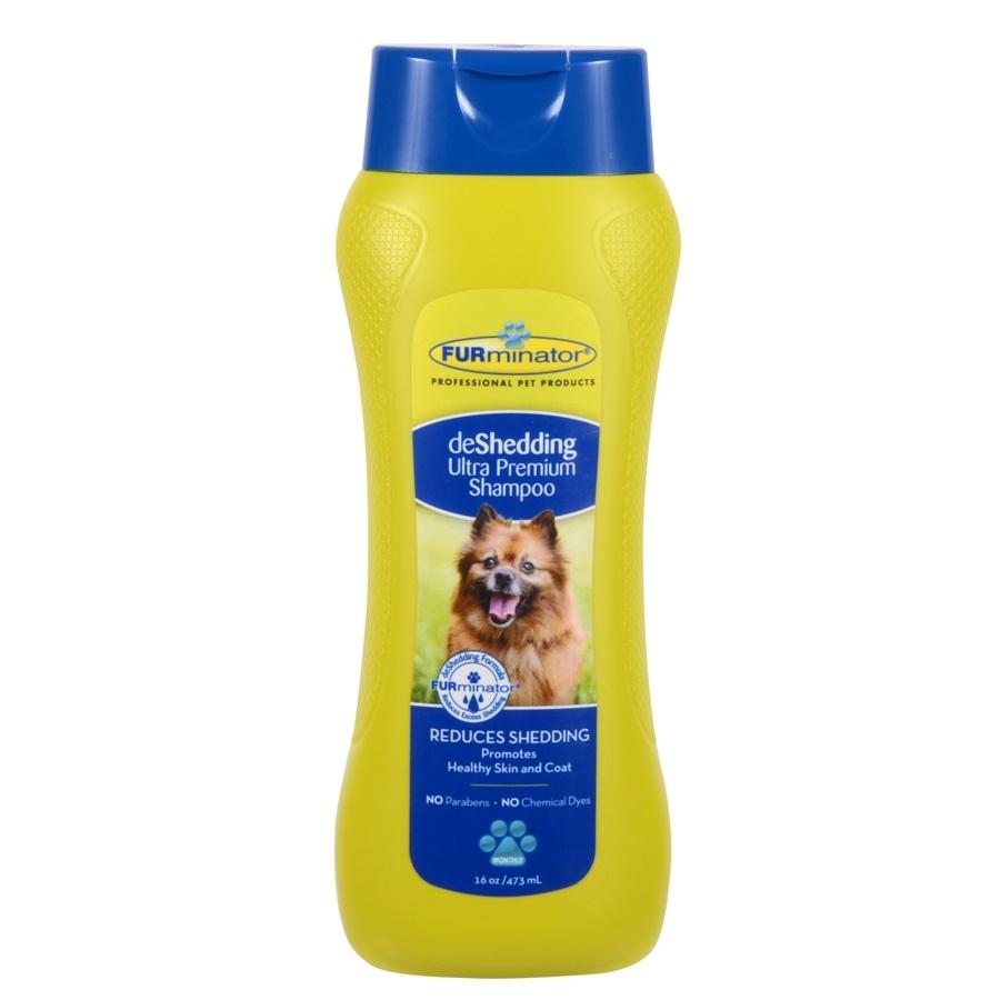 Sampon pentru caine, Furminator deShedding Ultra Premium Dog Shampoo, 490 ml