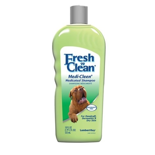 Sampon pentru caine, Lambert Kay Fresh 'n Clean Medi-Cleen, 533 ml
