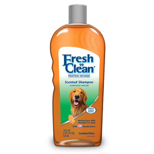 Sampon pentru caine, Lambert Kay Fresh 'n Clean Scented, 533 ml
