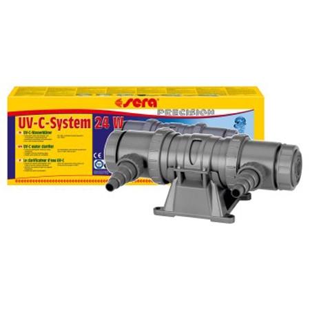 Sterilizator pentru acvariu Sera UV- System 24W