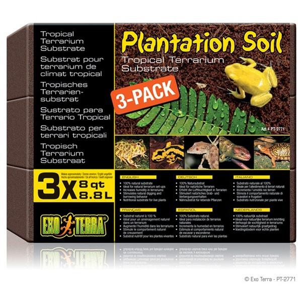 Substrat terariu Hagen Plantation Soil , 8,8 L
