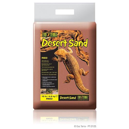 Substrat terariu Hagen Desert Sand Rosu 4.5 KG