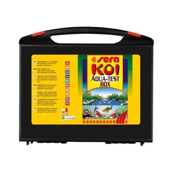 Teste apa iaz Sera Koi Aqua – Test Box