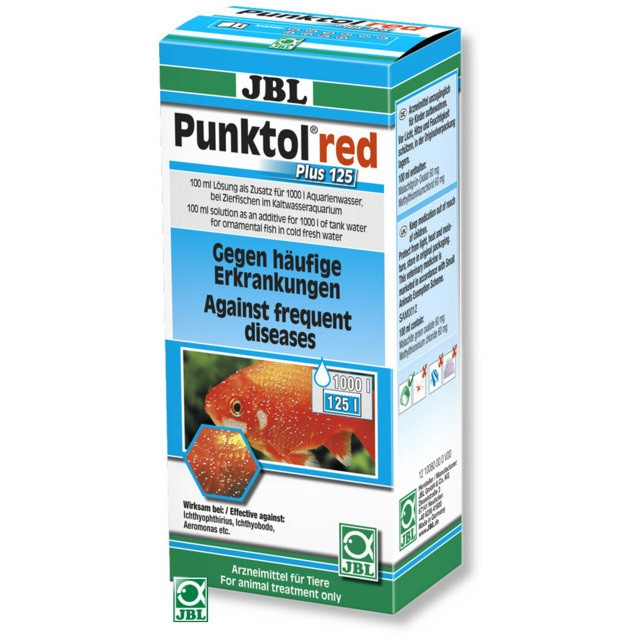 Tratament pesti JBL Punktol Red Plus 125ml