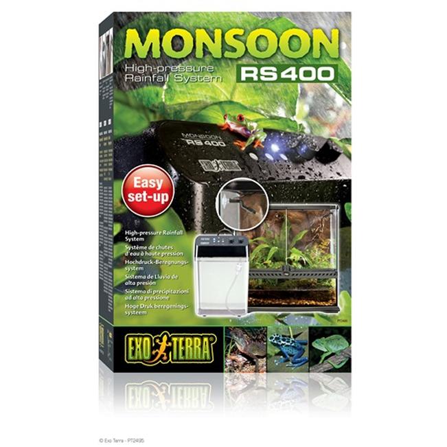 Umidificator pentru terariu  Exo Terra Monsoon RS400 High-Pressure Rainfall System