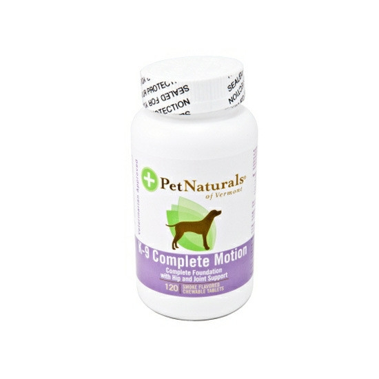 Vitamine pentru caini, Pet Naturals K-9 Complete Motion