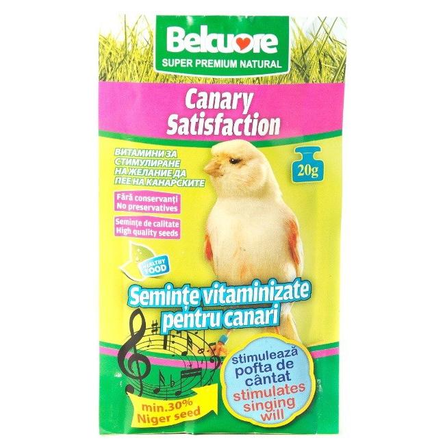 Vitamine pentru pasari Belcuore Cantec, 20 g